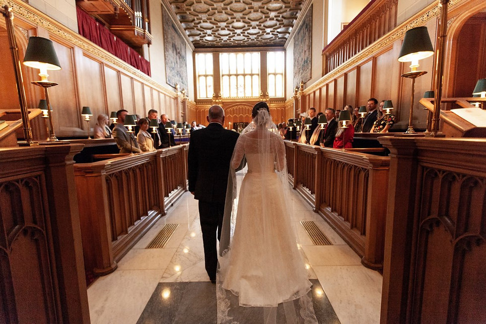 The Chapel Royal in St James's Palace Wedding captured by London Photographer Grace Pham 03