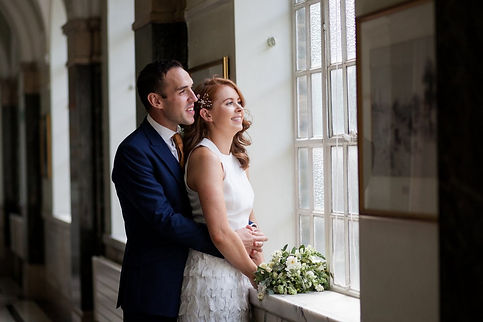 Islington Town Hall Wedding Photography, Mayor's Palour