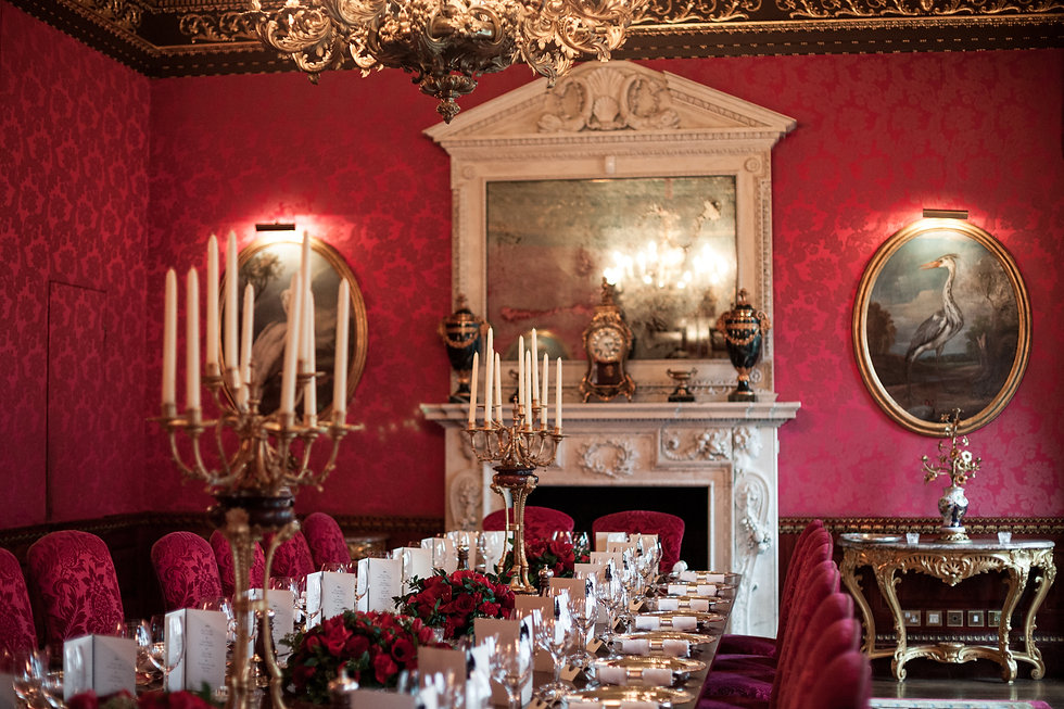 Reception Room. Wedding at The Ritz, London, captured by Grace Pham Photography 1