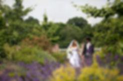 Summer wedding at Merton Register Office, Morden Park House