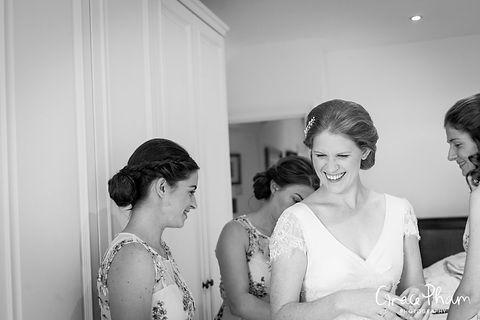 Bridal preparation at The Limes, Broombarn Lane, HP16 9PF by  Buckinghamshire Wedding Photography  02