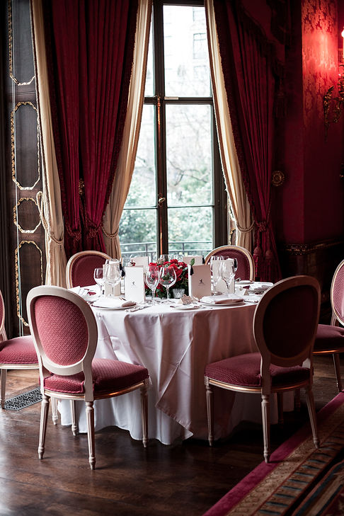 Reception Room. Wedding at The Ritz, London, captured by Grace Pham Photography 3