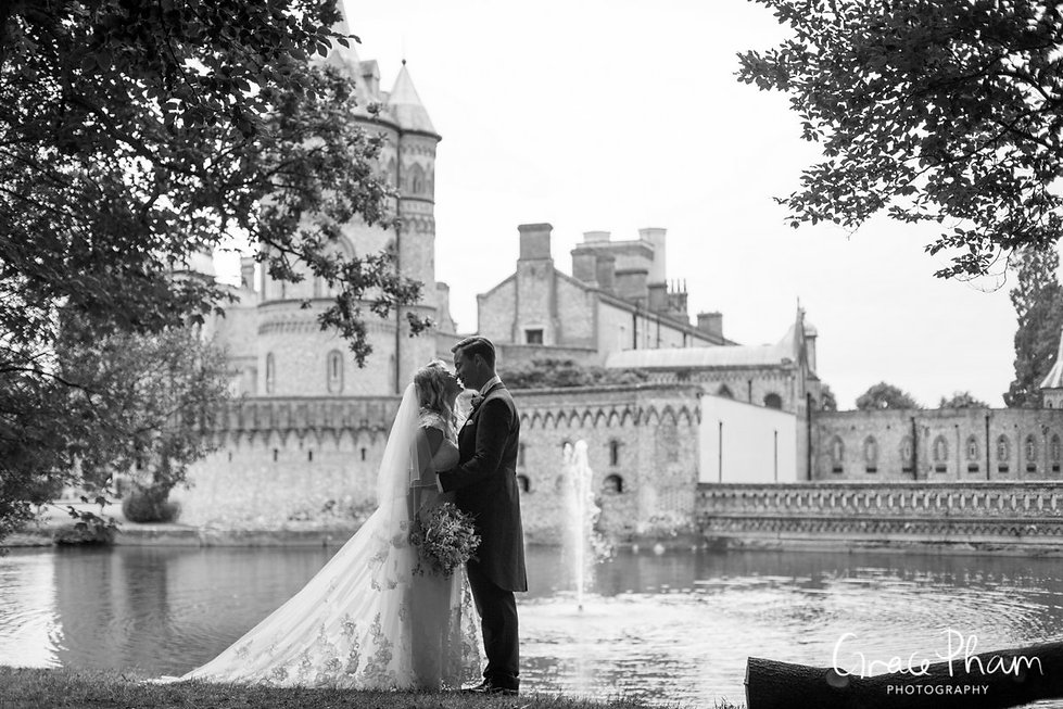 Horsley Towers Wedding, De Vere Horsley Estate, Surrey captured by Grace Pham Photography 11