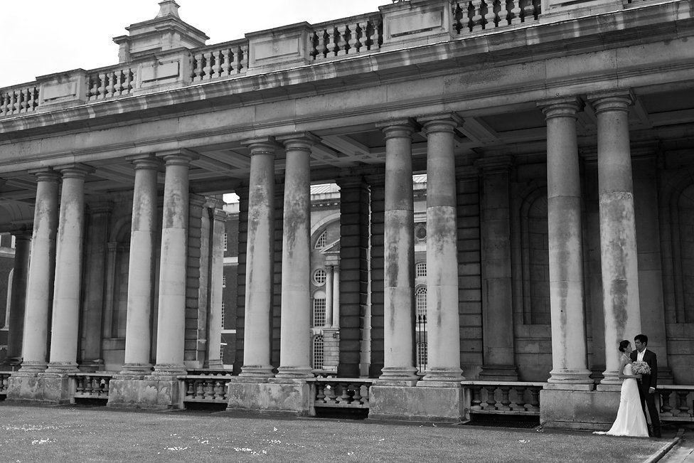 Wedding photos at Greenwich, Old Royal Naval College 08
