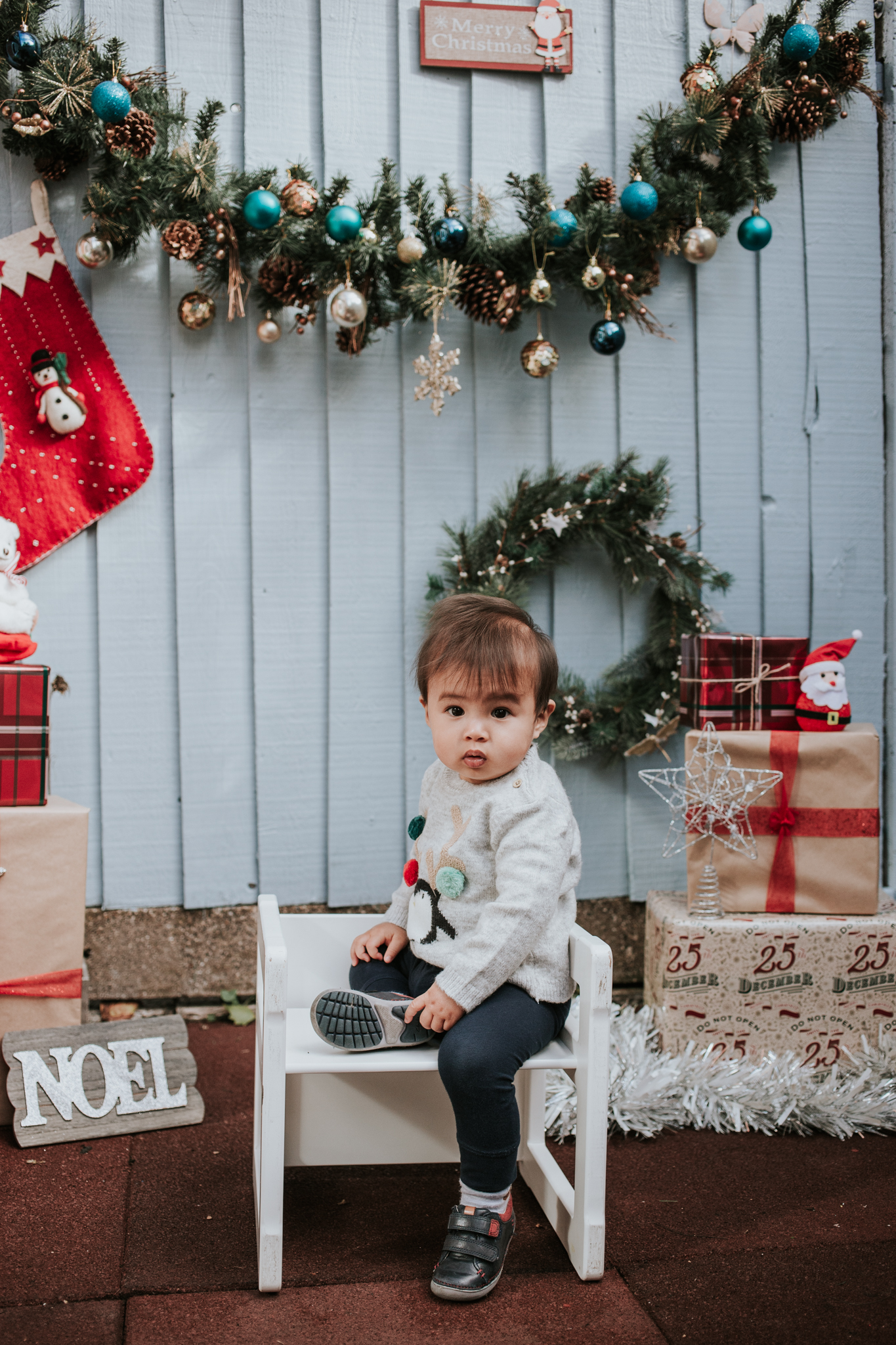 Christmas Mini Shoot, East London