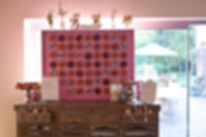 Donut wall, Millbridge Court Wedding Venue,Surrey Wedding Photographer 22