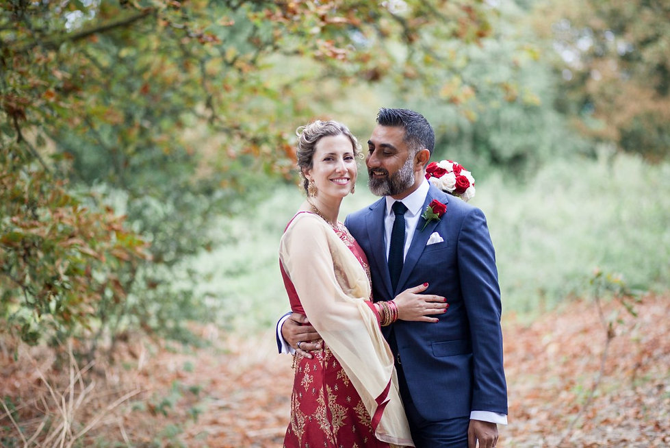 Autumn wedding at Merton Register Office 2018