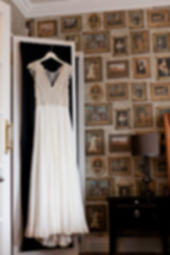 Wedding Dress by Martin Mccrea. Cannizaro House wedding captured by London Wedding Photographer 22