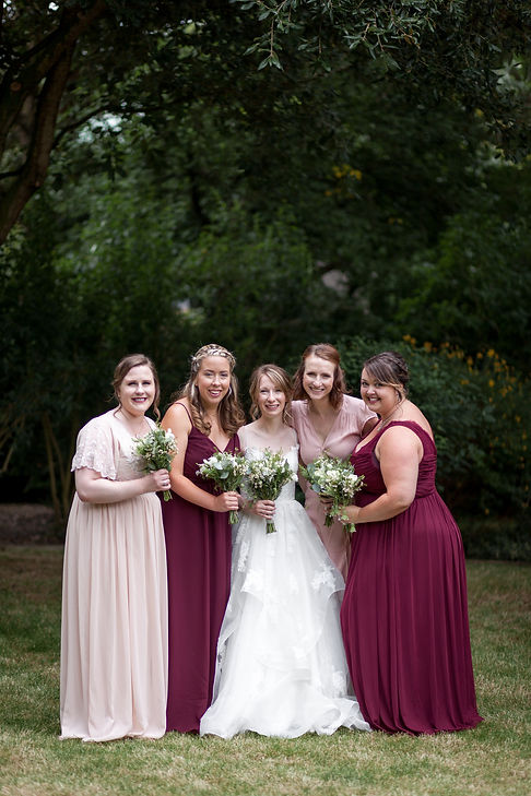 Dulwich Wedding, Garden Party, captured by Grace Pham Photography 01