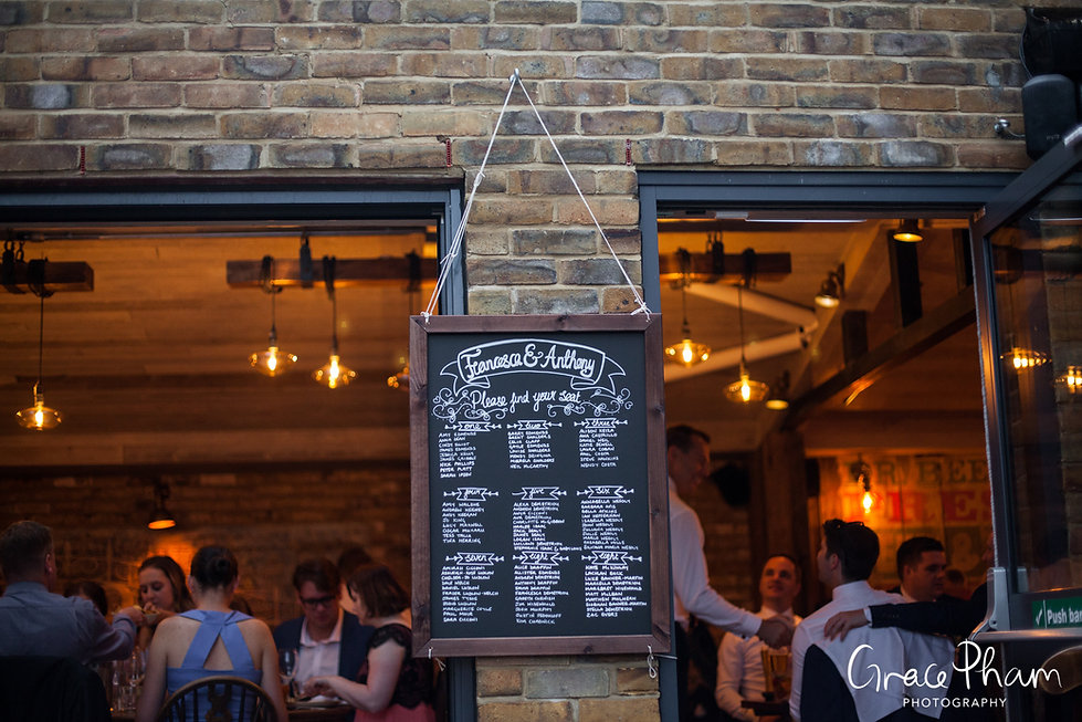 The Country Arms Pub Wedding, London, captured by Grace Pham Photography