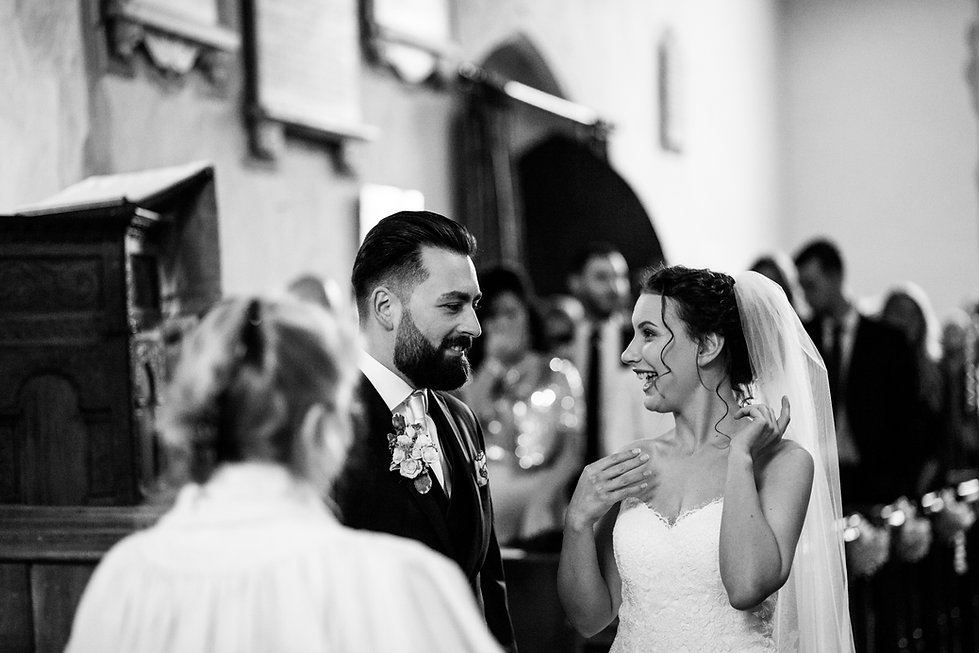 Saint Mary The Virgin Church Wedding, Ipswich, Suffolk, captured by Grace Pham Photography 05