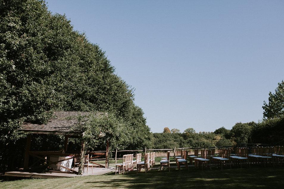 Sam & Charley Bury Court Farm Wedding, Farnham, captured by Grace Pham Photography 05