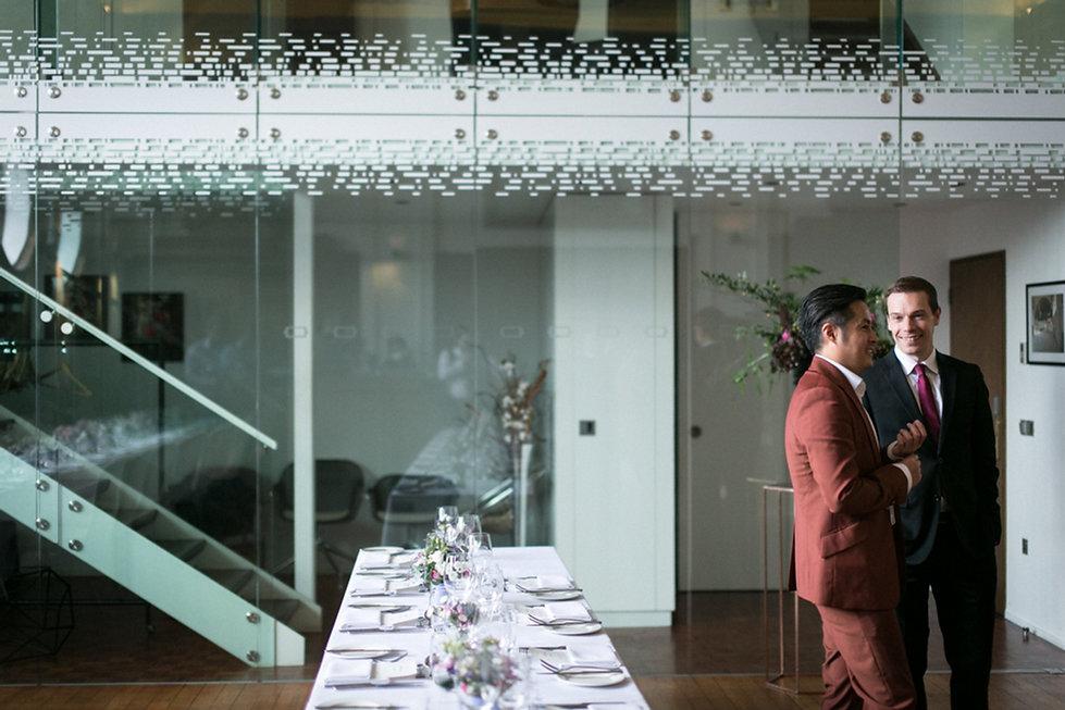 De Montfort Suite at the Town Hall Hotel Wedding