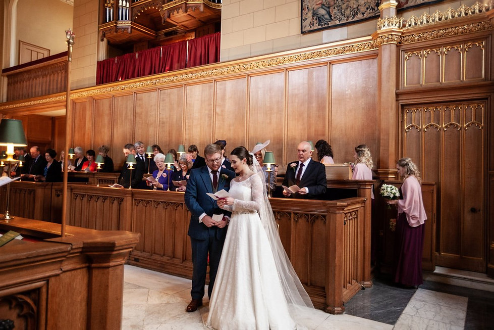 The Chapel Royal in St James's Palace Wedding captured by London Photographer Grace Pham 05