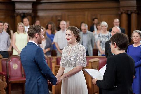 Islington Town Hall Wedding L&E