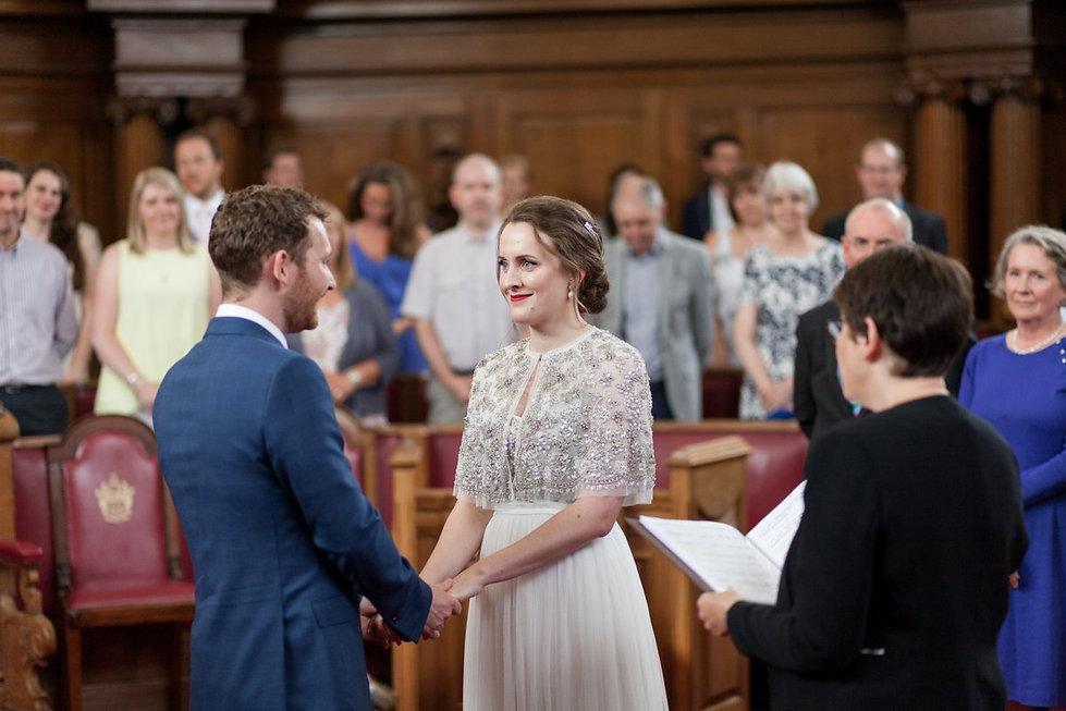 Islington Town Hall Wedding June 2018 captured by Grace Pham Photography