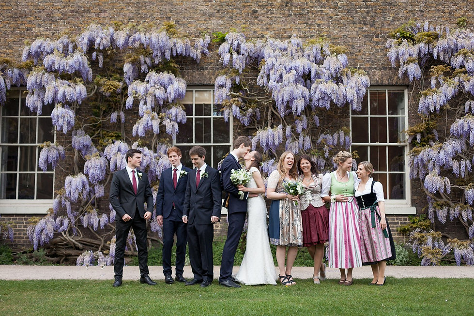 Fulham Palace Wedding Photographer, Botanical Gardens and Wisteria 02