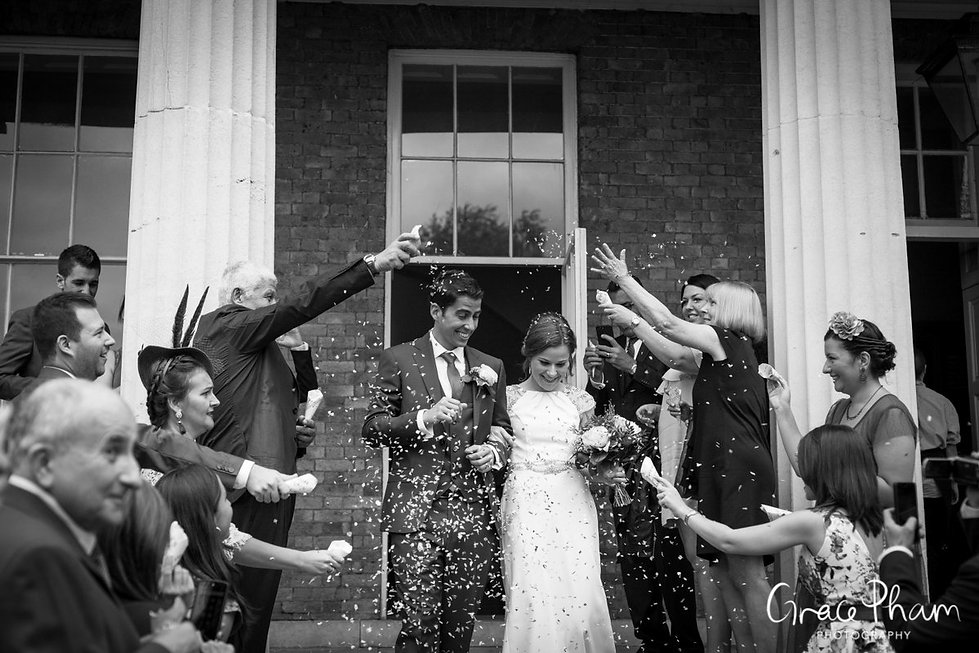 Clissold House Wedding Photography, London 08