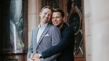 Dom & James - Civil Partnership / Gay Marriage Photography