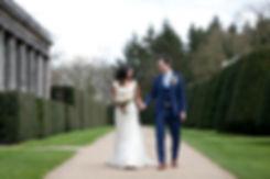 Great Fosters Wedding captured by Grace Pham Wedding Photographer. Beautiful wedding against an amazing wedding venue in Surrey.