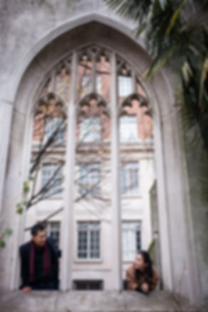 Engagement Photography Saint Dunstan in the East Church Garden 07