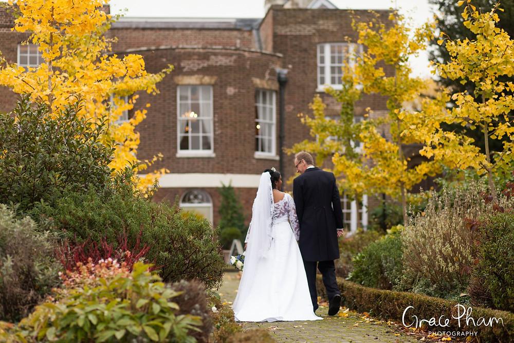 Morden Park House Wedding in Autumn 215