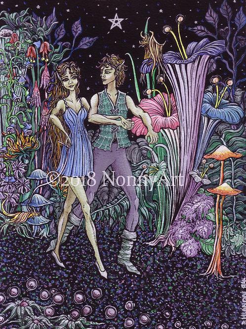 Moonlit Faerie Jaunt digital download
