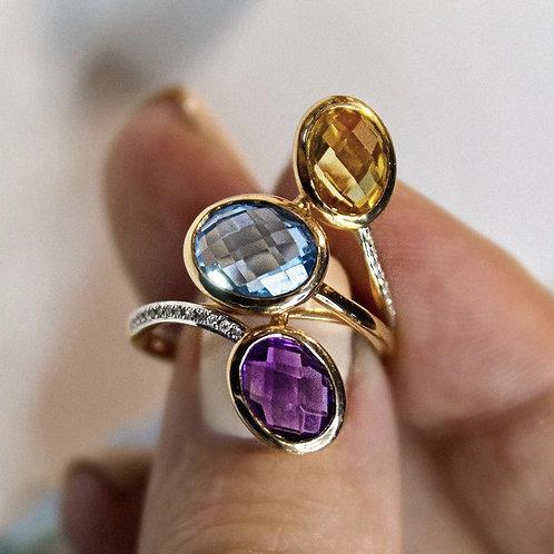 Кольцо союз камней