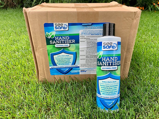 SeeSafe Hand Gel box of 20x 300ml Alcohol Free