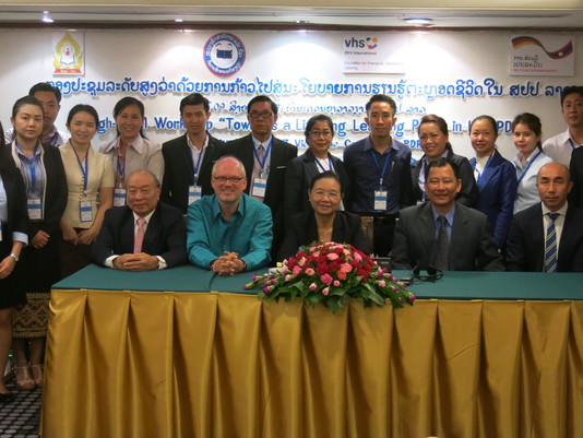 "HIGH-LEVEL WORKSHOP ON ""TOWARDS A LIFELONG LEARNING POLICY IN LAO PDR"""