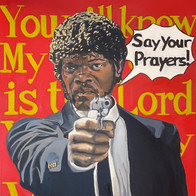 """Say your prayers!"""