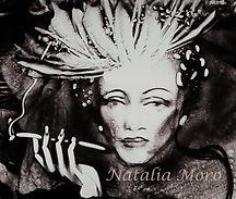 Marlene Dietrich Sandmalerin Natalia Moro