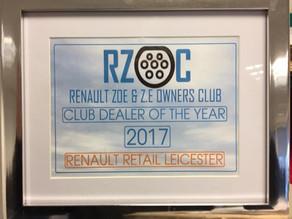 RZOC Club Dealer for 2017