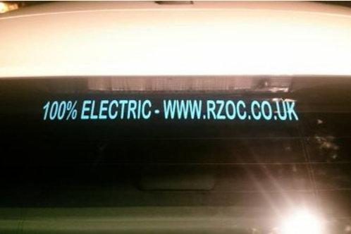 RZOC Club Sticker & 100% Electric
