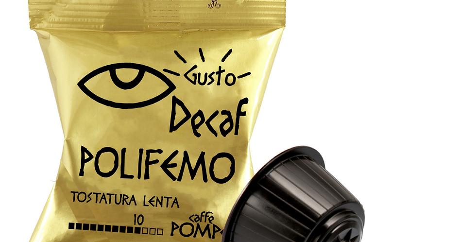 100 Compatible Coffee Capsules DolceGusto * Polifemo - Dek