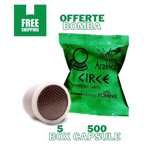 500Capsule di Caffè Compatibili Lavazza Espresso Point * Circe -Arabica