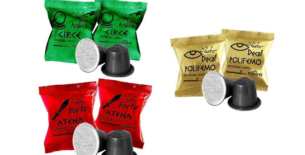 300 Coffee Capsules compatible with Nespresso * - Mixed Flavors