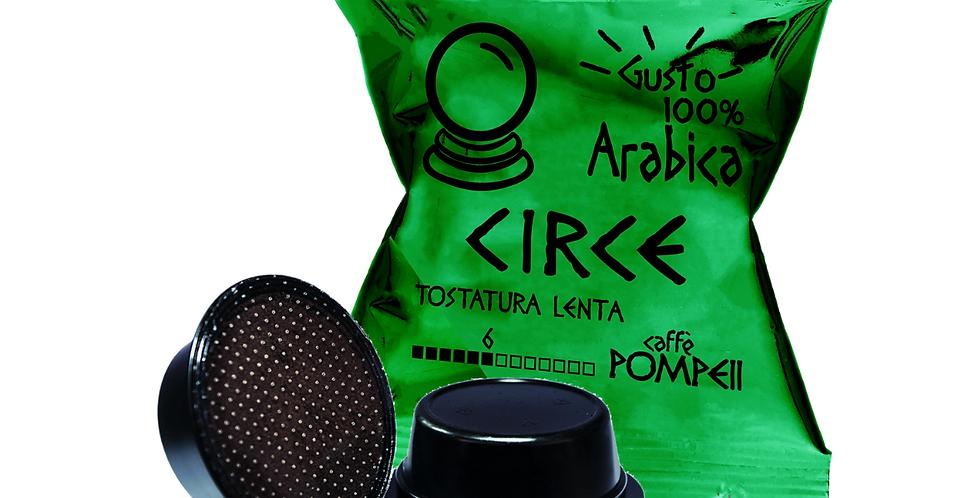Capsule di Caffè Compatibili Amodomio* Circe -Arabica