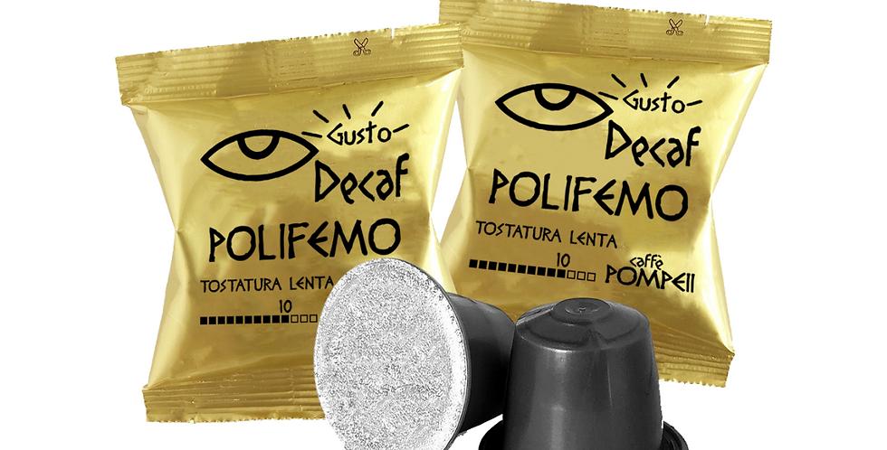 100Capsules of Coffee Compatible Nespresso * Polifemo - EspressoDEk