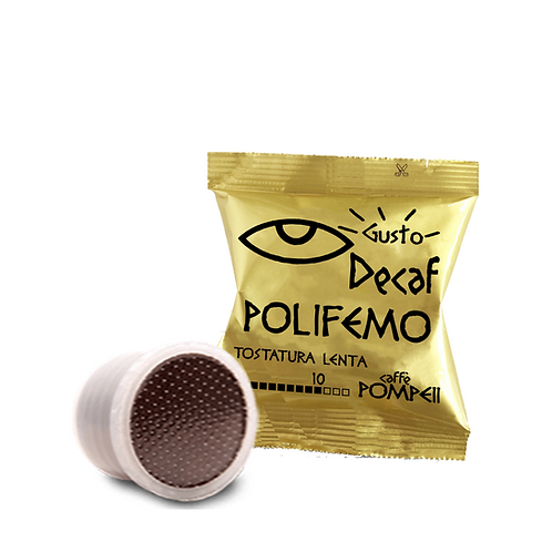 100Capsule di Caffè Compatibili Lavazza Espresso Point* Polifemo - EspressoDEk