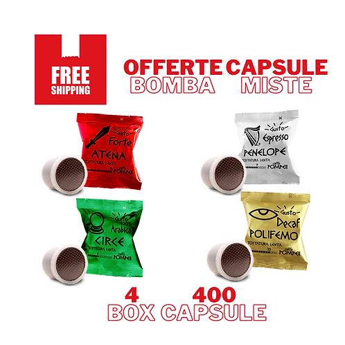400Capsule Caffè compatibili Espresso Point* -Gusti Misti