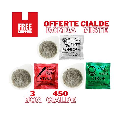 450Cialde Caffè Filtro Carta  -Gusti Misti