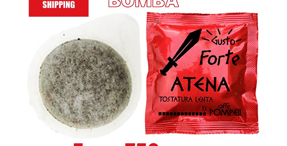 750Cialde Caffè Filtro Carta Atena -Gusto Forte