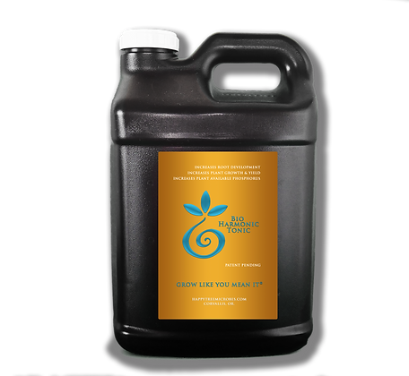 Bio Harmonic Tonic 1 gallon                              'Grow like you mean it'