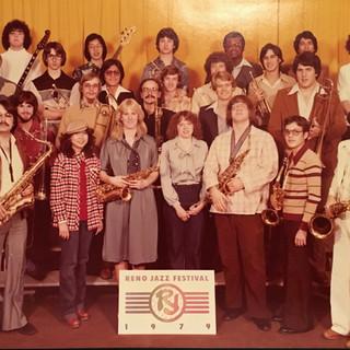 BC Jazz Ensemble at the 1979 Reno Jazz Festival