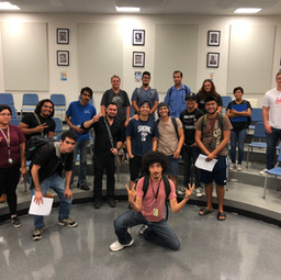 The inaugural class of Jazz Studies students, Fall 2018