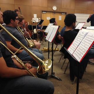 Guest artist John Lindberg conducts the Jazz Ensemble