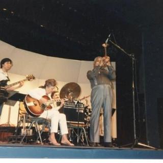 Dizzy Gillespie performs in the Indoor Theater (1987)