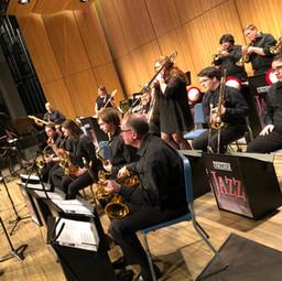 Guest artist Wayne Horvitz with the Jazz Ensemble