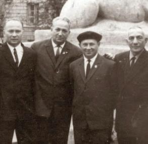 Участники восстания в Собиборе